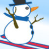 Snowman Skiing Game Online